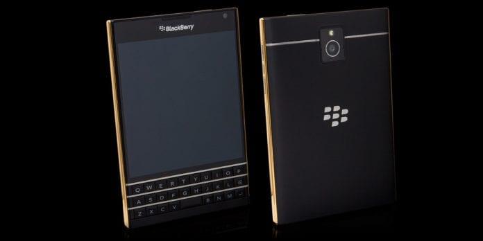 BlackBerry Gold Passport