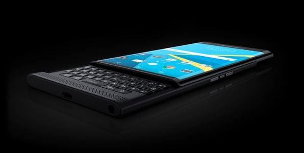 BlackBerry slider PRIV