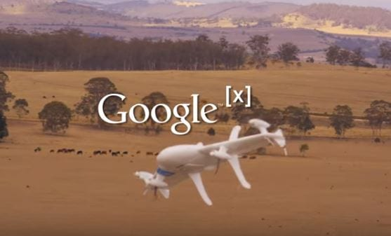 Google X Project Wing-Drone Delivery