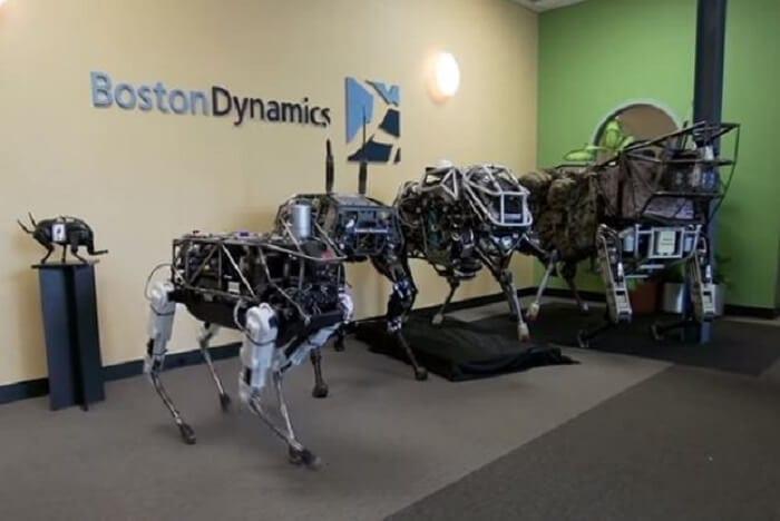 Alphabet Boston Dynamics