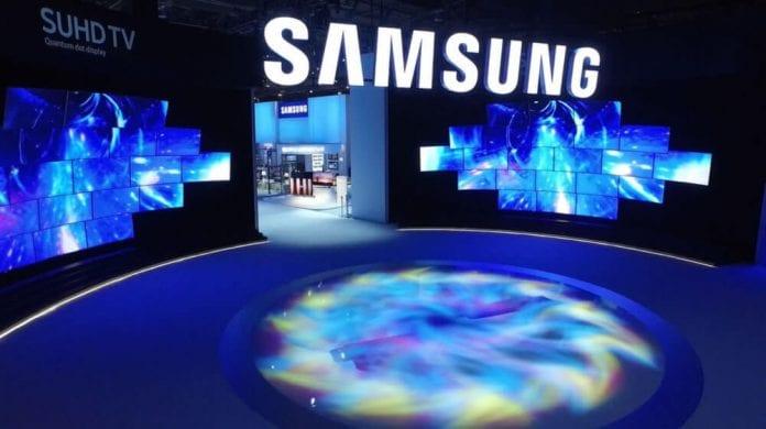 Samsung CES Entrance