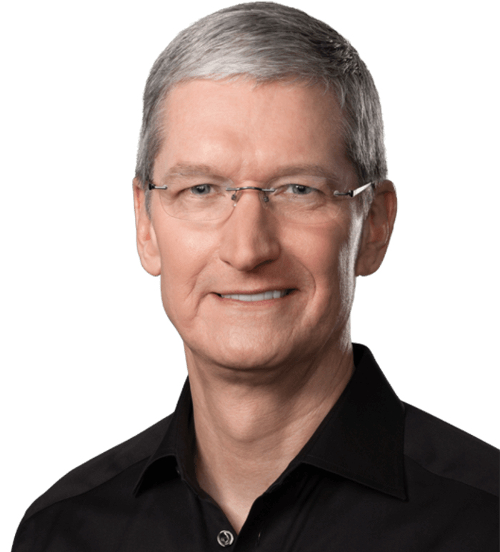 a study of apple incs ceo tim cook Apple ceo tim cook sent out a memo to apple employees this morning, thanking them for their support in the company's ongoing standoff with the fbi and reiterating its stance against granting.