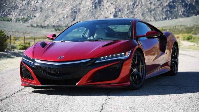 2017 Acura Nsx Praised By Consumer Reports For Its Comfort