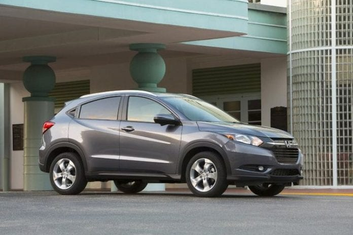 2017 Honda HR-V - Prices and a New Color | Opptrends ...