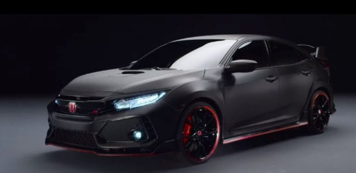 2018 Honda Civic Type R Prototype Will Hit The Us Market Opptrends