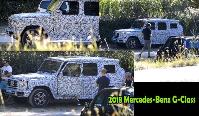 2018 mercedes benz g class caught out opptrends. Black Bedroom Furniture Sets. Home Design Ideas