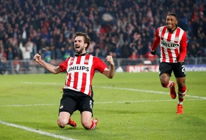 Saul scores only goal as Atletico Madrid beats PSV 1-0