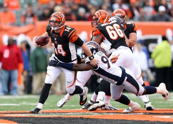 Siemian throws 4 touchdown passes as Broncos rally past Bengals, 29-17