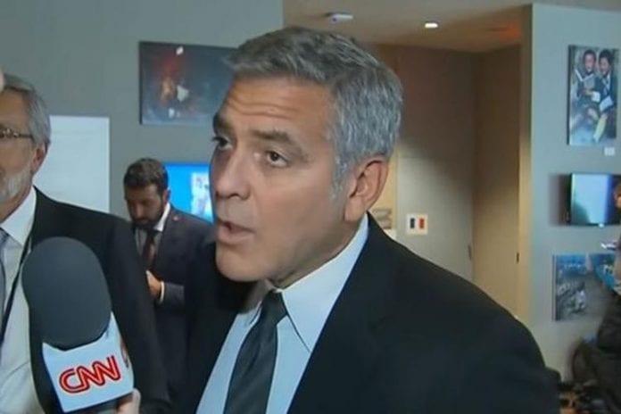 George Clooney shocked...