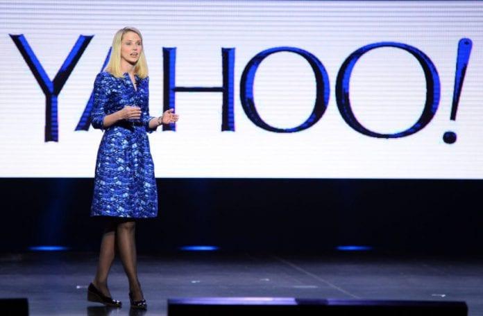 Marissa Mayer the CEO of Yahoo