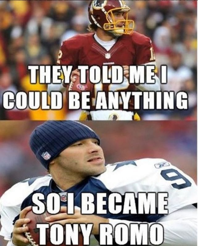 Cowboys vs Redskins Funny side of the Game, Memes