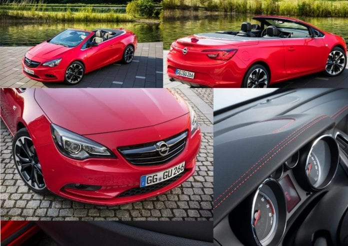 new opel cascada special edition to premiere in paris opptrends. Black Bedroom Furniture Sets. Home Design Ideas