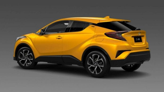Ford Mustang Concept 2017 >> toyota-ch-r-koba-yellow-2017-suv-6 | Opptrends
