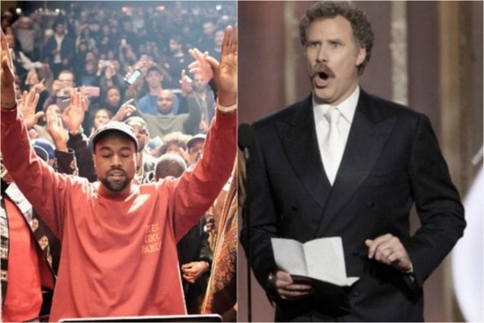 Kanye West wants Will Ferrell to play him in biopic