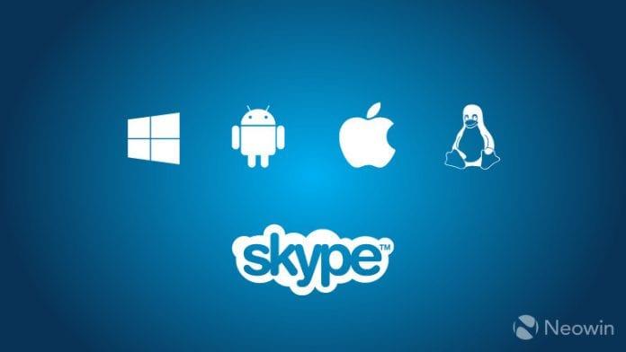 skype cross platform story