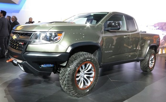 2018 chevrolet colorado zr2 diesel spotted in the streets opptrends. Cars Review. Best American Auto & Cars Review