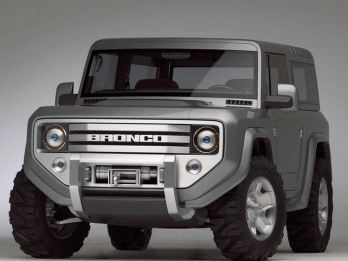 2018 Ford Bronco And Features It Needs To Bring