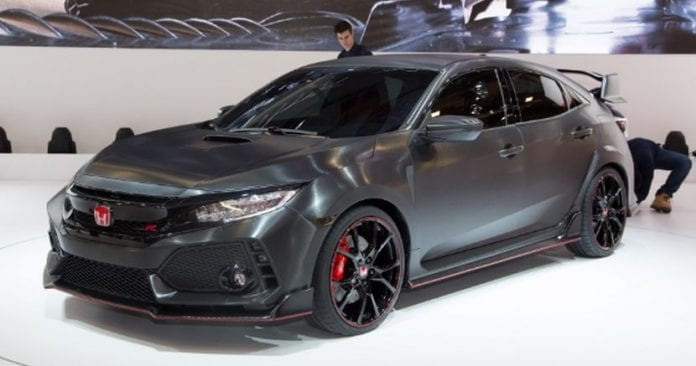 2018 Honda Civic Type R Is Being Prepared For Launch | Opptrends