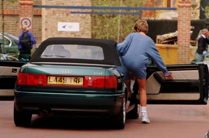 Princess Diana S Audi 80 B4 Cabriolet On Auction
