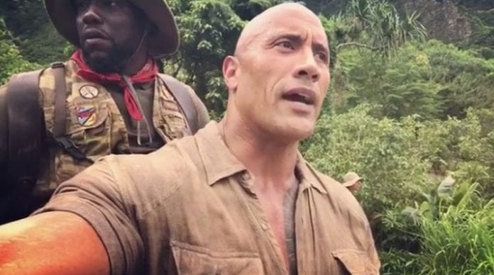 Jumanji stars Rock and Hart in a difficult position