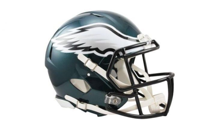 PHILADEPHIA EAGLES Helmets
