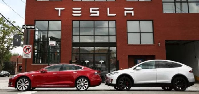 Tesla october 17