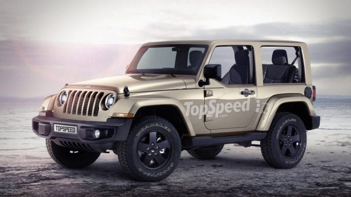 2018 Jeep Wrangler Pick-Up Version Will Appear in 2018