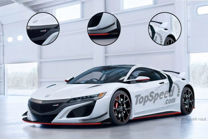 2017 Acura NSX Type R Will Have Over 700 HP