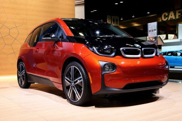 2017 bmw i3 with new design and longer rage. Black Bedroom Furniture Sets. Home Design Ideas