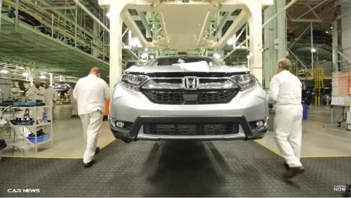 2017 honda cr v production has started in ohio for Honda east liberty ohio