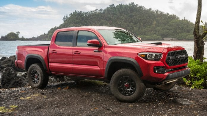 2017 Toyota Tacoma TRD Pro Is A Terrific Off-Roader