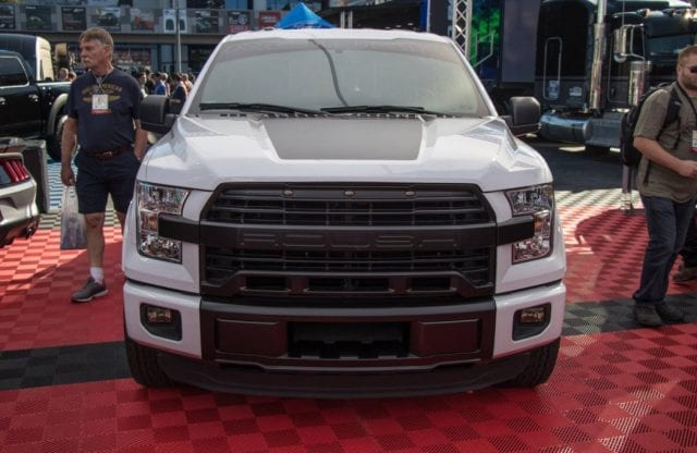 2017 ford f 150 nitemare by roush packs a v8 with 600 hp. Black Bedroom Furniture Sets. Home Design Ideas