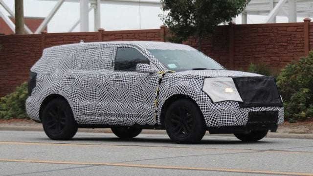 2019 2018 Ford Explorer Caught Once Again