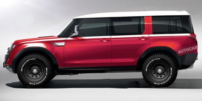 2019 new land rover defender to feature latest off road technology opptrends news reviews. Black Bedroom Furniture Sets. Home Design Ideas