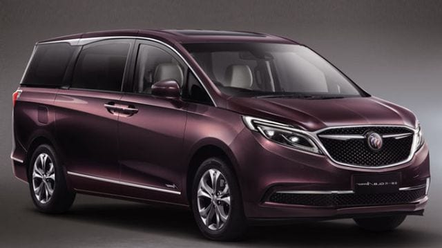 2017 Buick Avenir Minivan To Reach China