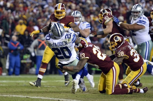Cowboys Beat The Redskins To Earn Their 10th Straight Win
