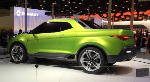 Hyundai Creta STC pick-up concept debuted at 2016 Sao ...