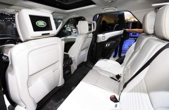 2017 land rover discovery is more luxurious for Land rover discovery 2017 interior