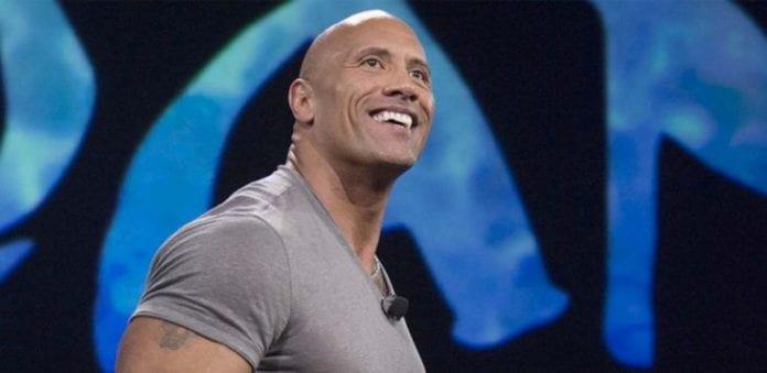 Dwayne 'The Rock' Johnson Celebrating Thanksgiving Day