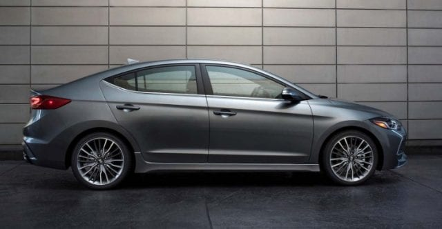 2017 hyundai elantra sport test drive for Hyundai elantra sport interior