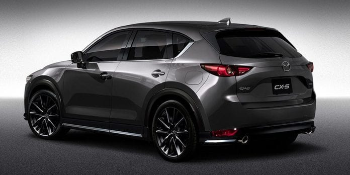 2017 mazda cx 5 custom style revealed. Black Bedroom Furniture Sets. Home Design Ideas