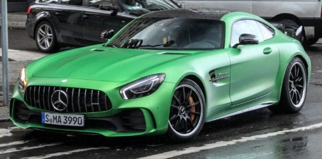 2017 Mercedes-AMG GT-R Is A Green Masterpiece