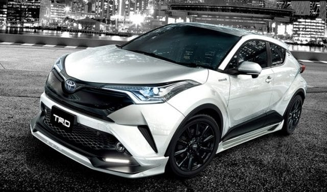 Toyota C Hr Trd And Modellista Tuned Versions Available