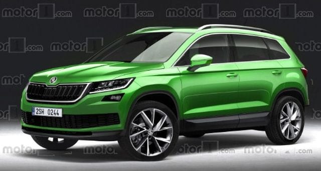 2018 skoda yeti looks like a miniature version of a kodiaq. Black Bedroom Furniture Sets. Home Design Ideas