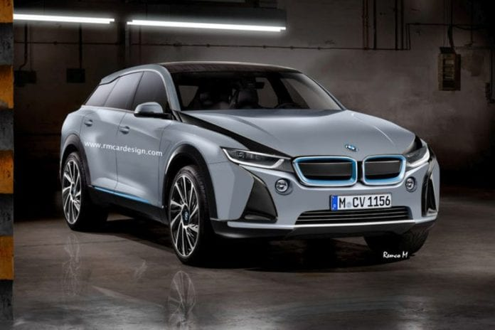 2019 Bmw I5 Cuv Rendered