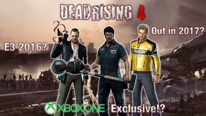 Dead rising 4 release date in Melbourne