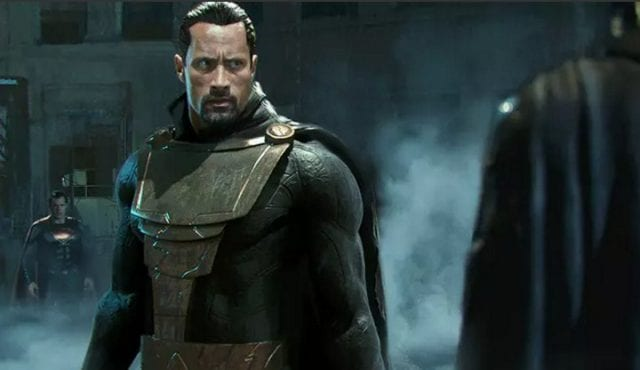 Dwayne Johnson as Black Adam 640x370