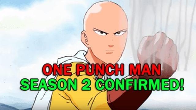 One Punch Man Season 2 Release Date