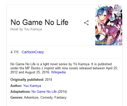 no game no life season 2 release