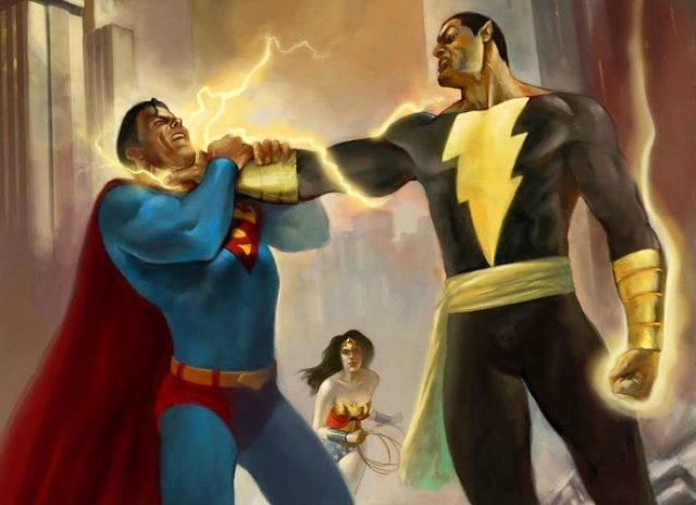 henry cavill teasing possible clash between superman black adam 640x464